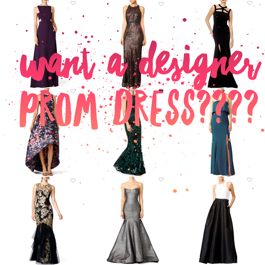 Gretchen Leigh Photography   Prom Dress! Rent a designer gown!