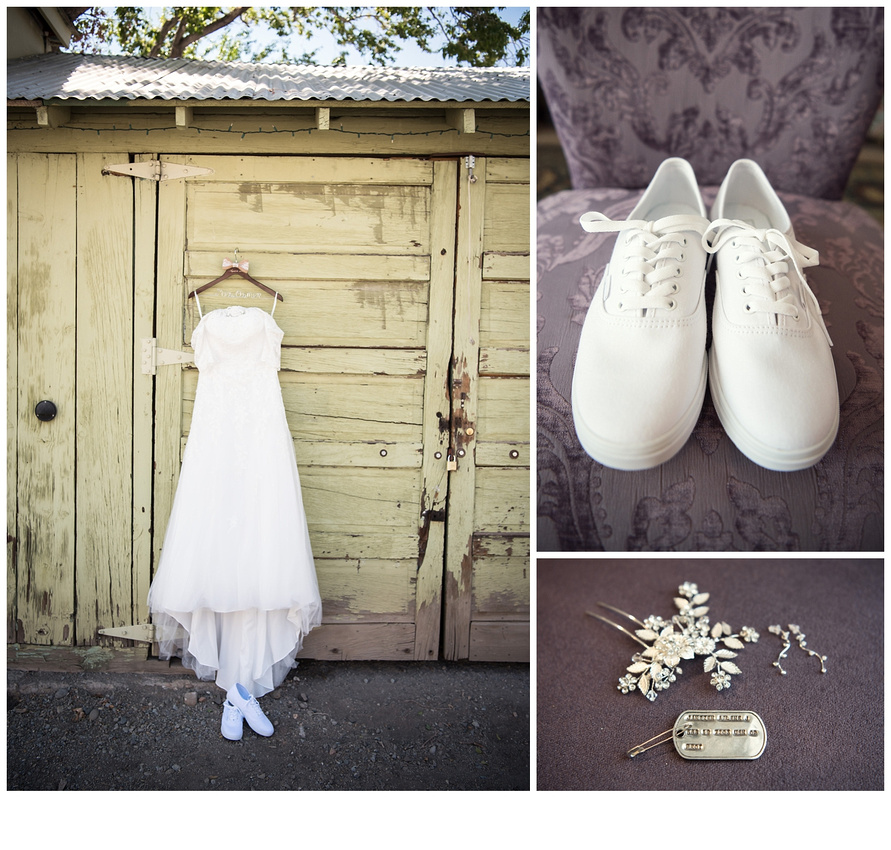 Meagans Wedding Dress Was One Of The Most Beautiful Dresses Ive Seen In A Long Time And Her Choice Shoes Were Perfect Practical Fun